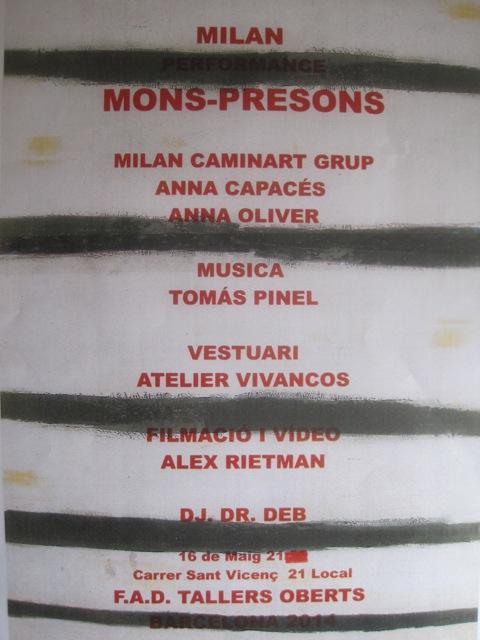 cartel monspresons
