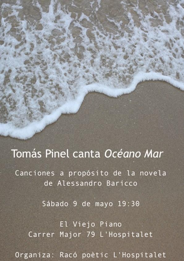 Tomás Pinel canta Océano Mar