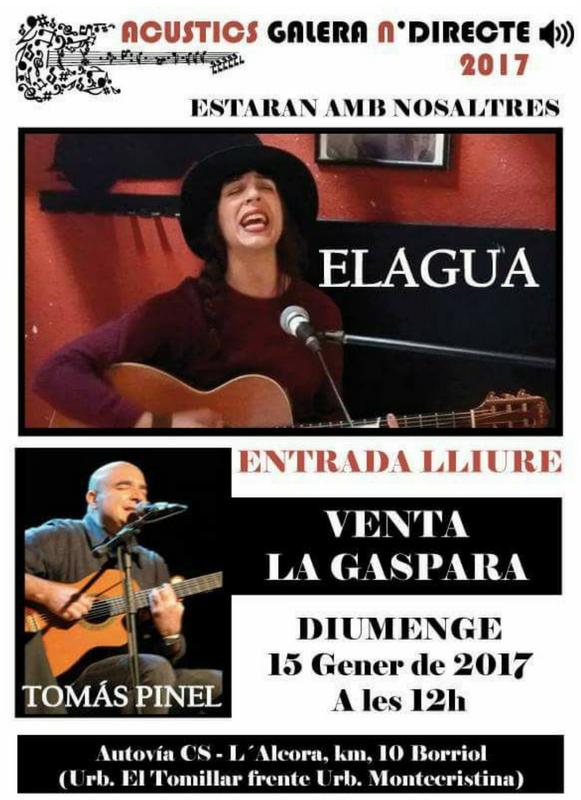 Gema Elagua - Tomás Pinel - Venta La Gaspara
