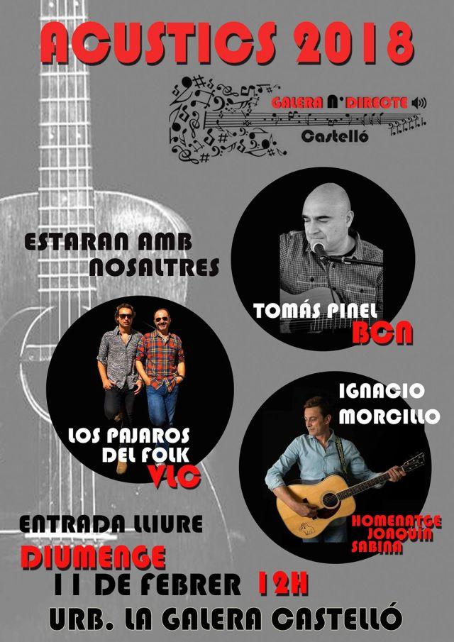 Tomás Pinel - Los pájaros del folk - Ignacio Morcillo 11-02-2018